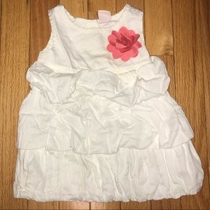 Old Navy Bubble Tiered Dress Soft Flower 6-12 Cute